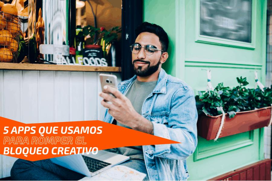5 Apps que usamos para romper el bloqueo creativo